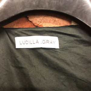 LUCILLA GRAY feather duvet puffer coat