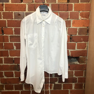 ANN DEMEULEMEESTER cotton white shirt