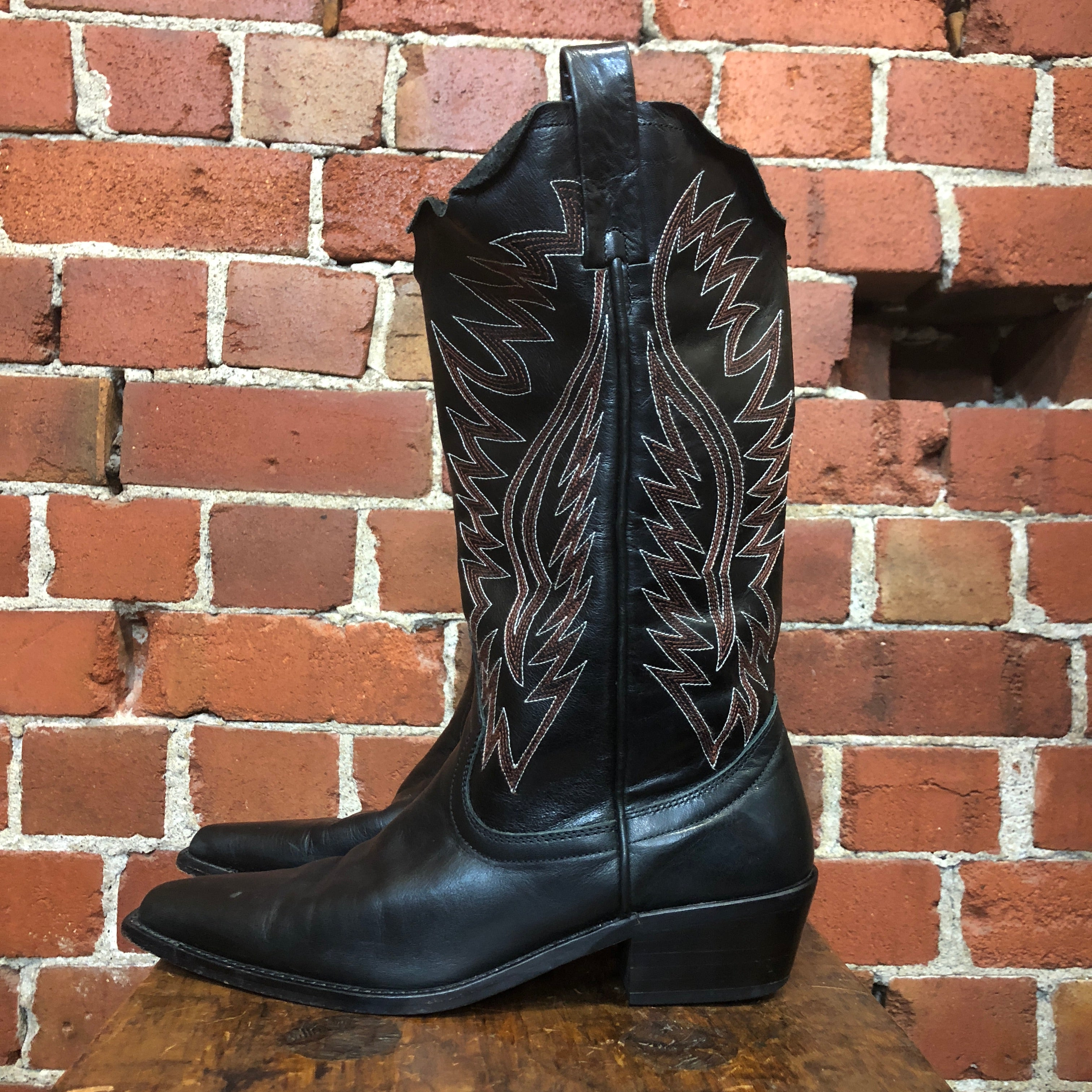 UNDERCOVER 2004 runway collection western boots