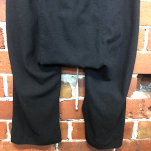 RICK OWENS pure wool cropped pants