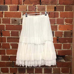 COMME DES GARCONS frilly layered skirt