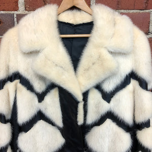 1960s mink and leather coat! From New York!