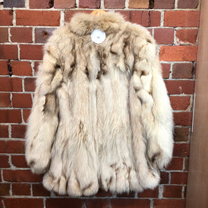 MOUNTAIN LION 1970's fur jacket