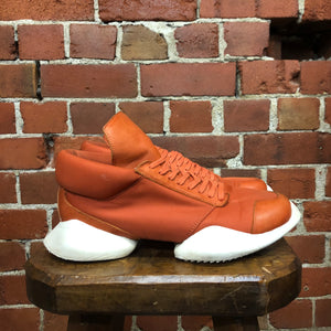 RICK OWENS leather sneakers 9.5