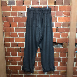 COMME DES GARCONS fine wool and cupro pants