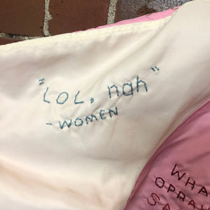 WOMENS MARCH protest jacket