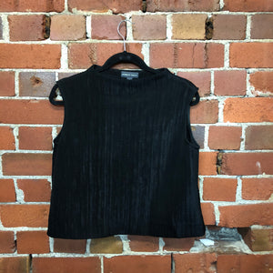 MARILYN SAINTY 1998 textured boxy top