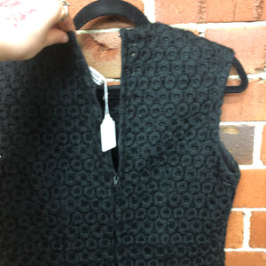 COMME DES GARCONS wool and silk textured top