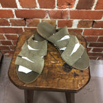 MARTIN MARGIELA leather sandals 43