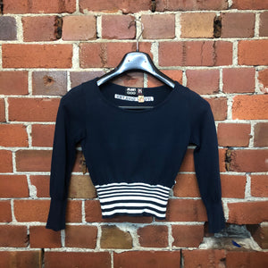 JPG by GAULTIER cotton sailors knit top