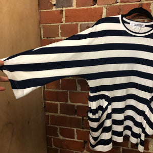 COMME DES GARCONS striped top
