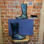 PRADA leather boots 36