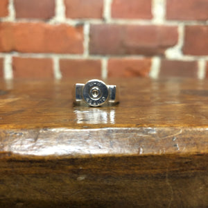 Winchester bullet STG silver ring