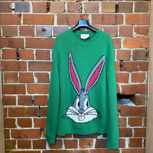 GUCCI Disney collab Bugs Bunny jumper