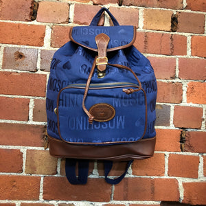 MOSCHINO 1990s backpack