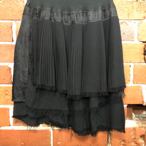 NOM-D mixed fabric skirt