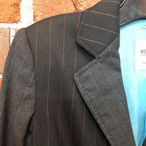 MOSCHINO pinstriped wool suit