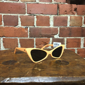 LE SPECS ON THE HUNT /PEACH SHERBET SMOKE SUNGLASSES