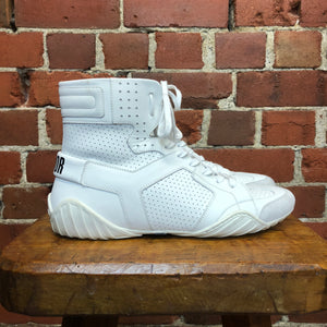 CHRISTAIN DIOR 39.5 LEATHER SNEAKERS