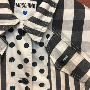 MOSCHINO 1980s denim jacket