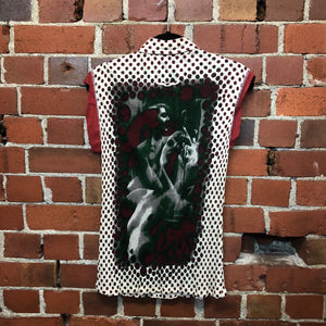 GAULTIER surrealist photo print shirt