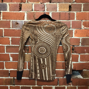 GAULTIER tribal print top