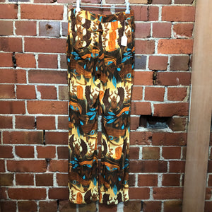 GAULTIER jeans egyptian print pants