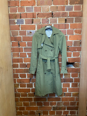 WORKSHOP cotton lined trench coat