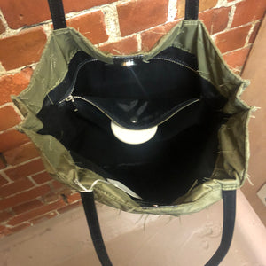 GAULTIER 1990s fabric tote bag
