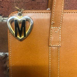 MOSCHINO NEVER USED leather shoulder bag