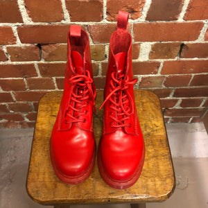 DOC MARTENS red! boots 39