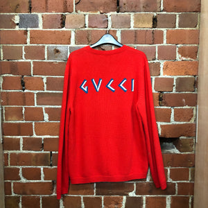 GUCCI X DISNEY Donald Duck wool jumper