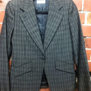 DRIES VAN NOTEN woven fabric blazer
