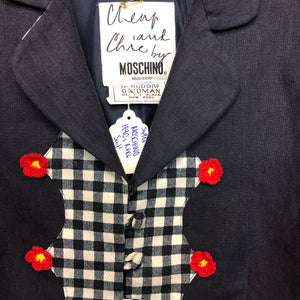 "MOSCHINO 1990s 'The Nanny"" linen suit! RARE"