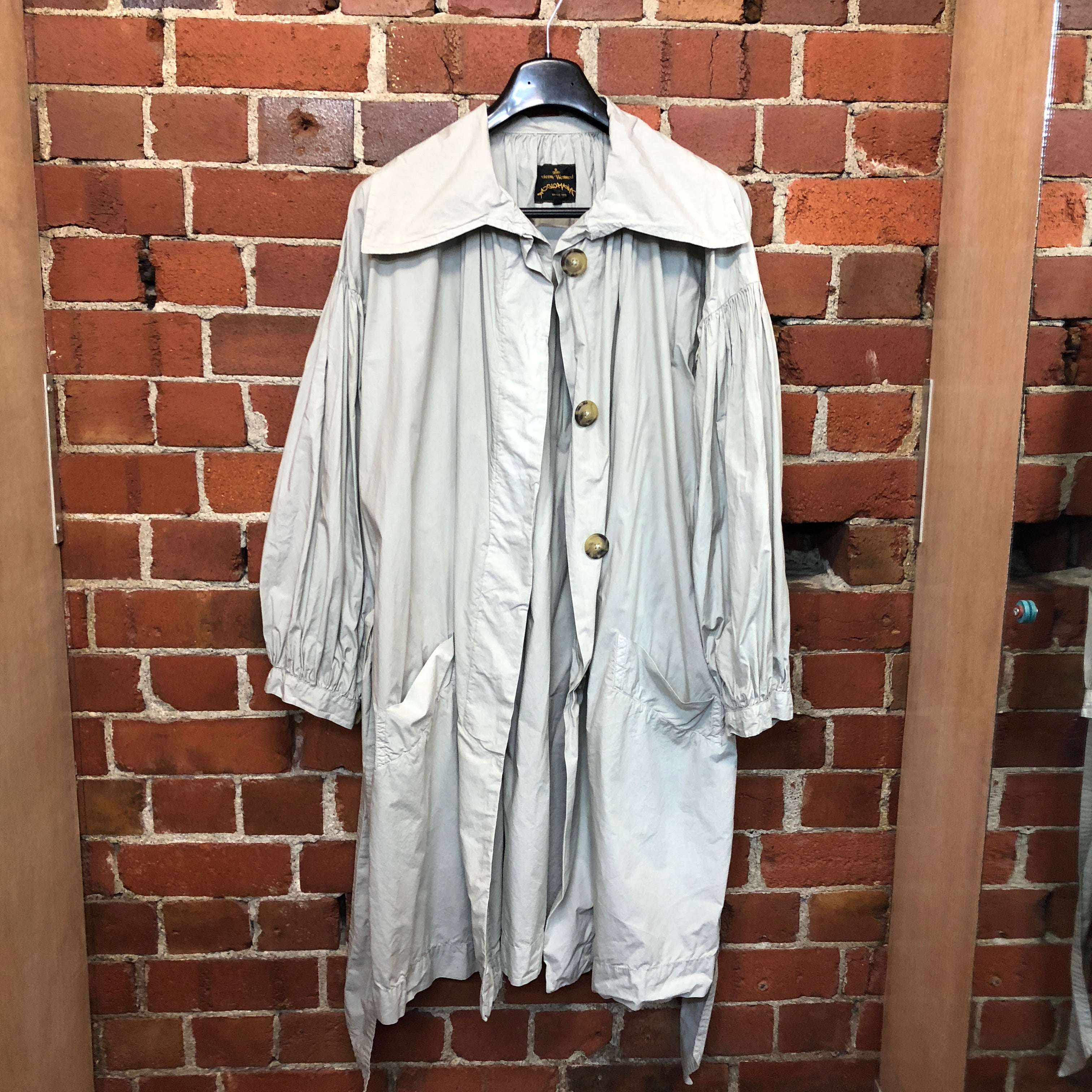 VIVIENNE WESTWOOD pirate trench coat