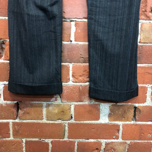 COMME DES GARCONS 1999 wool striped pants
