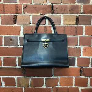 MOSCHINO birkin style leather bag