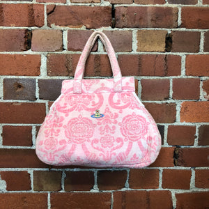 WESTWOOD toweling pink bag!