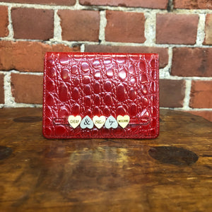 MOSCHINO Cheap and Chic card wallet