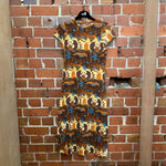 JEAN PAUL GAULTIER 1990s Egyptian print dress