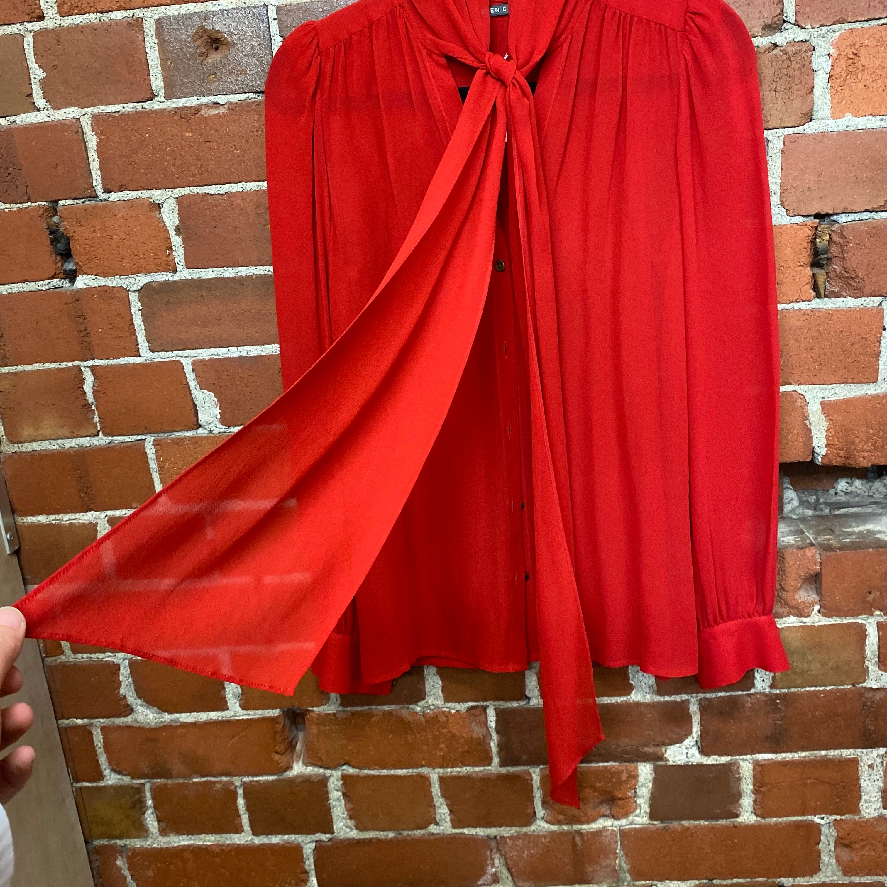 HELEN CHERRY silk blouse