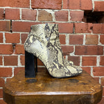 SHELLYS London Snakeskin boots 40