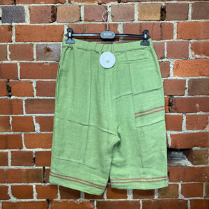 JW ANDERSON hessian fabric shorts