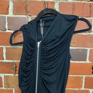 RICK OWENS zipper dress
