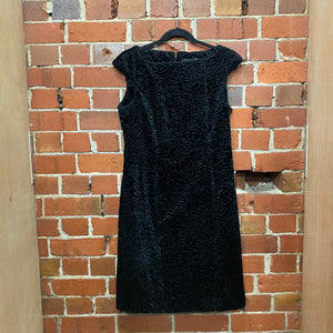 WORLD faux fur dress