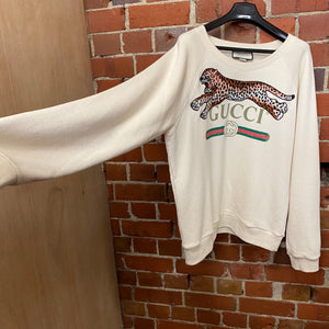 GUCCI tiger patch jumper