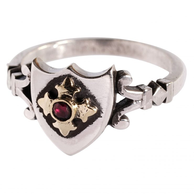 William Griffiths The Gallant Savior ring stg silver NEW