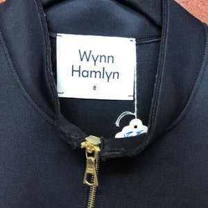 WYNN HAMLYN neoprene drawstring top