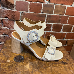 CHLOE leather embellished sandals 39