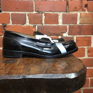 COLLAGE leather loafers 38
